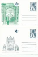 5 Cartes Postales Neuves Illustrées PaPE JP II - Série Complète Impeccable CA 34/38 - COB 55 EUR   --  C1/785 - Ganzsachen