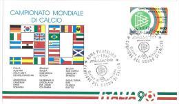 CARTOLINA - CAMPIONATO MONDIALE DI CALCIO ITALIA ´90  - ANNO 1990 - 1990 – Italië
