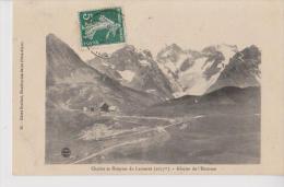 LAUTARET 05 CHALETS ET HOSPICE GLACIER DE L'HOMME BELLE CARTE  RARE !!! - France