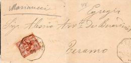 1905  LETTERA CON ANNULLO CASTELLALTO TERAMO - 1900-44 Vittorio Emanuele III