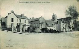 91 CHALO-St-MARS  Route De St-Hilaire - France