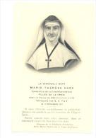 Religion - Image Pieuse De Mère Marie-Thérèse HAZE , Religieuse, Soeur, Nonne, Nun- Filles De La Croix  (b133) - Devotieprenten
