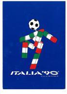 CARTOLINA - ANNO 1990 - ITALIA ' 90 - MASCOTTE - UNITED ARAB EMIRATES - FOGLIETTO - 1990 – Italy