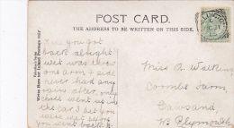 POSTAL HISTORY -1905  SQUARED CIRCLE CANCELLATION  - WALLINGTON - Poststempel