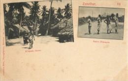 ZANZIBAR - N GAMBO - NATIVE PRISONERS - Tanzanie