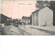 Carte Postale Ancienne De : JUNIVILLE - France