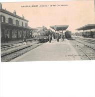 Carte Postale Ancienne De : AMAGNE LUCQUY - France