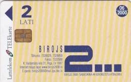 Latvia, S-007, Offica 2000, 2 Scans. - Latvia