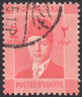 Egypt, 2 M. 1937, Sc # 207, Used - Egypt