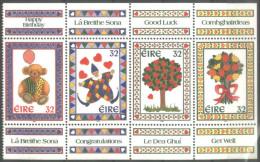 IRELAND   - HAPPY Anniversary - TREE - FLOWERS - Teddy Bear  -  MNH** -  1995 - Celebrations