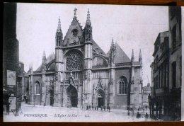 DUNKERQUE L'eglise St Eloi - Dunkerque