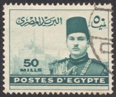 Egypt, 50 M. 1939, Sc # 236, Used - Egypt