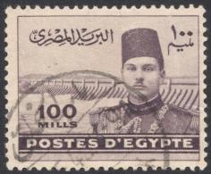 Egypt, 100 M. 1939, Sc # 237, Used - Egypt