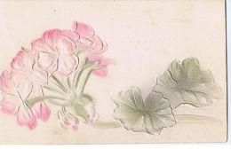 1900s EMBOSSED POSTCARD - FLOWER - 17 - Illustrateurs & Photographes