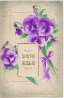 1900s EMBOSSED POSTCARD - FLOWER - 2 - Illustrateurs & Photographes