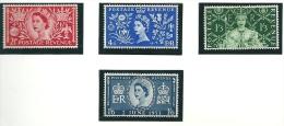 Great Britain 1953 SG 532-5 MM - 1952-.... (Elizabeth II)
