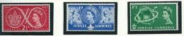 Great Britain 1957 SG 557-9 MNH - 1952-.... (Elizabeth II)