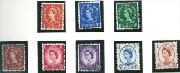Great Britain 1959 SG 599-609 MNH** - 1952-.... (Elizabeth II)