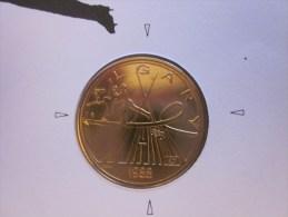 Monnaie De Paris + Enveloppe Officielle Administration Monnaies Médailles 1988 Calgary Jeux Olympiques Albertville - Monnaie De Paris