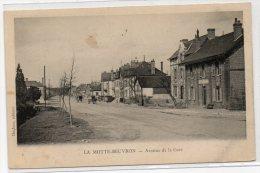 LAMOTTE BEUVRON (41) - L´ AVENUE DE LA GARE - Lamotte Beuvron