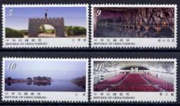 FORMOSE -TAIWAN 2009 - Monuments, Paysages Et Vues Divers - 4v Neufs // Mnh - 1945-... République De Chine