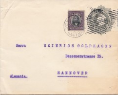 Lettre, 1915,  CHILI,  VALPARAISO - ALLEMAGNE/4084 - Cile