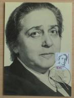 RFA - Carte Maximum CM 1988 - YT N°1222 - Femmes De L'Histoire Allemande - [7] République Fédérale