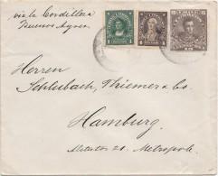 Lettre, 19..,  CHILI,  VALDIVIA - ALLEMAGNE, Via La Bordillera Bunos Ayres/4085 - Chili