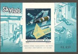 Hongrie Hungary Magyar  ** Non Dentelés  N° YT  BF 107 Skylab - Space