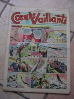 """COEURS VAILLANTS   N° 24  """" YANN LE VAILLANT """"   -  JUIN  1949 - Autre Magazines"""