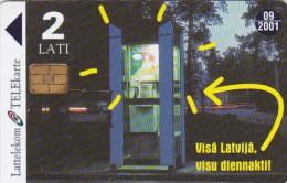 Latvia, D-051, Batteries, 2 Scans. - Latvia
