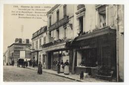 CREIL  - Incendié Par Les Allemands - Rue De La République. - Creil