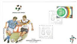 FDC - BUSTA UFFICIALE - FINALE ARGENTINA - GERMANIA - CAMPIONATO MONDIALE DI CALCIO ITALIA ´90  - ANNO 1990 - 1990 – Italië