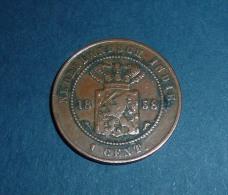 INDES NEERLANDAISE / NEDERLANDSCH INDE 1 Cent. 1858 TTB - [ 3] 1815-… : Kingdom Of The Netherlands