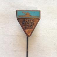 Badge / Pin (Rowing Kayak Canoe) - Yugoslavia Jajce European Championship 1963 - Canoeing, Kayak
