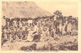 """Afrique  ANGOLA Le Cathéchisme Dans Un Village (RELIGION) (""""Spiritus"""" MISSIONS Des PERES Du St ESPRIT) *PRIX FIXE - Angola"""