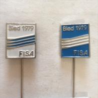 Badge / Pin (Rowing) - Yugoslavia Bled 8th World Championship FISA 1979 FISA - Rowing