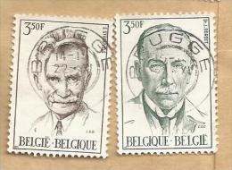 - 423 KA - Nrs 1603/04 - Belgique