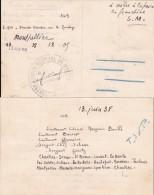 1938 6è ESCADRILLE DE CHASSE - CARTE DE NAVIGATION - ETAPE  De MONTPELLIER CENTRE AERIEN Hérault - Parcours Chartres / - 1921-1960: Moderne