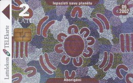 Latvia, D-063, Learn More About The Planet, Aboriginals, 2 Scans. - Lettonie