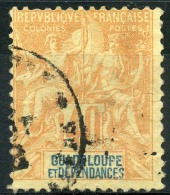 Guadeloupe (1892) N 36 (o) - Oblitérés