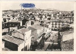 Agrigento - Racalmuto Corso Garibaldi Con Panorama - Agrigento