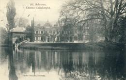 Schooten - Château Calixberghe -1911 ( Verso Sien ) - Schoten