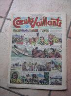 """COEURS VAILLANTS   N° 4  """" L´OMBRE DE L´IDOLE """"   -  JANVIER  1952 ( + CALVO ) - Magazines Et Périodiques"""