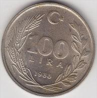 @Y@    Turkije   100 Lira  1988       (2502) - Turkije