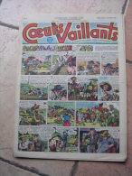 """COEURS VAILLANTS   N° 5  """" L´OMBRE DE L´IDOLE """"   -  FEVRIER  1952 ( + CALVO ) - Magazines Et Périodiques"""