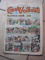 """COEURS VAILLANTS   N° 6  """" L´OMBRE DE L´IDOLE """"   -  FEVRIER  1952 ( + CALVO ) - Magazines Et Périodiques"""