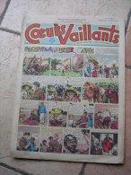 """COEURS VAILLANTS   N° 7  """" L´OMBRE DE L´IDOLE """"   -  FEVRIER  1952 ( + CALVO ) - Magazines Et Périodiques"""