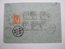 1906, Registered Letter To Austria - India (...-1947)