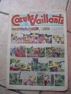 """COEURS VAILLANTS   N° 8  """" L´OMBRE DE L´IDOLE """"   -  FEVRIER  1952 ( + CALVO ) - Magazines Et Périodiques"""